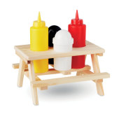 4-delige condiment set