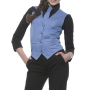 Ladies Vest Lena 52 Grey Blue (ca. Pantone 7674C)