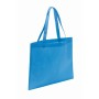 "Non-woven shopping bag""Market"",li.blue"