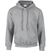 Dryblend® adult hooded sweatshirt® sport grey l
