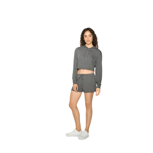 AMA Tri-blend Cropped Hoodie For Her
