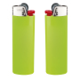 J26 Lighter BO apple green_BA white_FO red_HO chrome