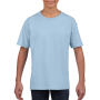 Gildan T-shirt SoftStyle SS for kids Light Blue XS