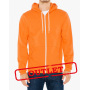 AMA Sweater Hooded Zip Flex Fleece for him Tang-35% Korting XS