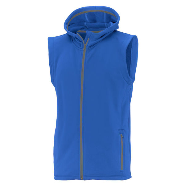 ZAMORA HOODED VEST MAN