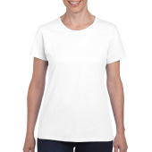 Gildan T-shirt Heavy Cotton SS for her White S