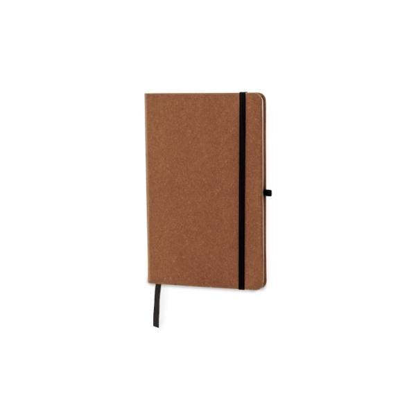 Hardcover notebook A5 recycled leer
