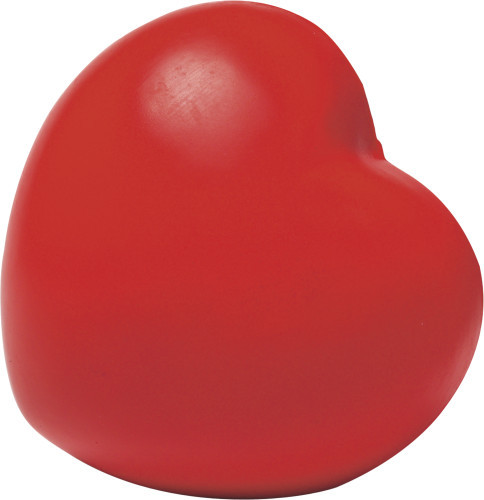 Anti-stress figuur model 'hart' rood