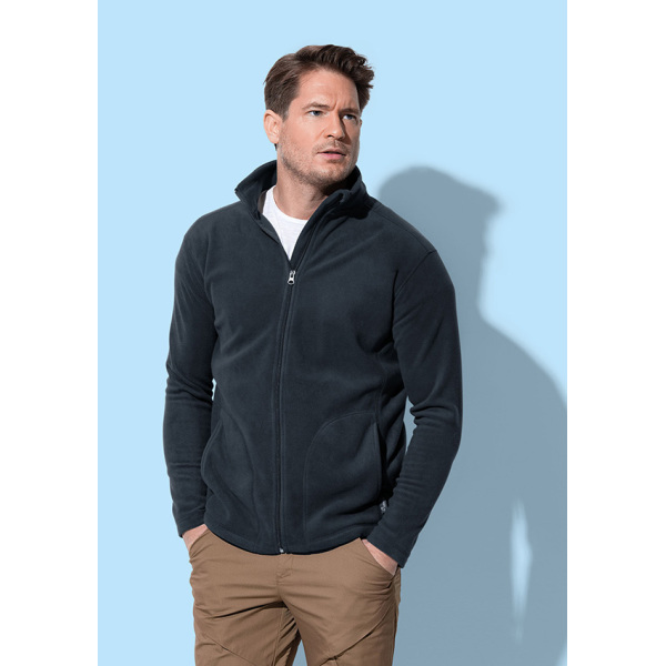 Stedman Polar Fleece Cardigan for him