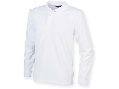 Men's coolplus® long-sleeved polo shirt