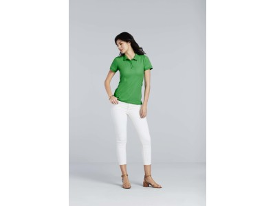 Premium cotton® ladies' double piqué polo