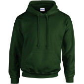 Heavy blend™ classic fit adult hooded sweatshirt forest green m