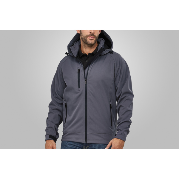 Macseis Jacket Softshell Safari for him Grey
