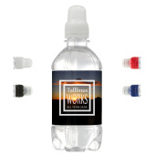 Bronwater 330 ml R-PET met sportdop