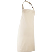Colours bib apron natural one size