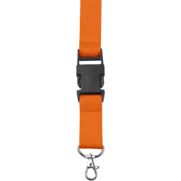 Polyester (300D) lanyard and key holder