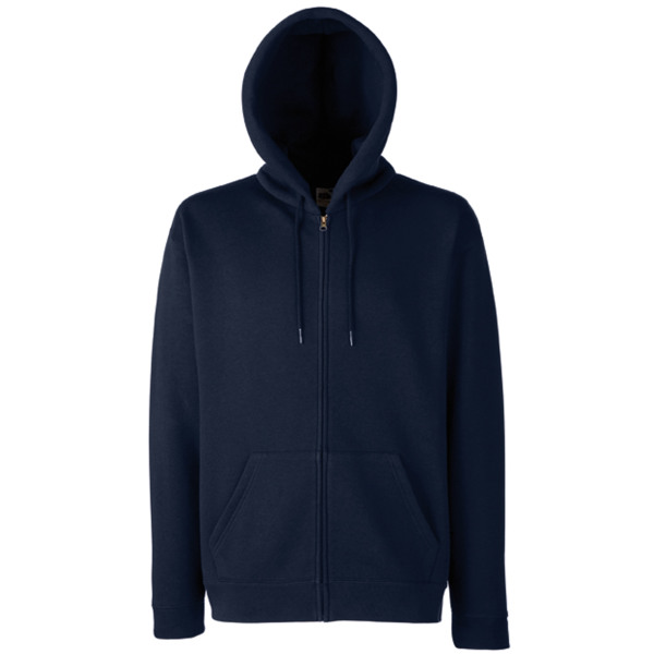 Men's premium full zip hooded sweatshirt (62-034-0)