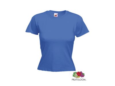 Kleuren Dames T-Shirt Valueweight