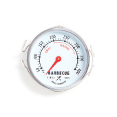 Bbq-Buitenthermometer,  silvercolor