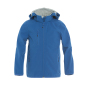 Clique Basic Softshell Jacket Junior kobalt 150/160