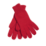 Knitted Gloves rood