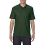 Gildan Polo Performance Double Pique SS for him forest green 3XL