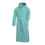 Bath Robe Hooded mint