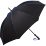AC midsize umbrella FARE®-Seam - black-euroblue