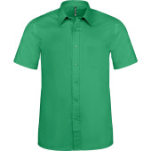 Ace - heren overhemd korte mouwen kelly green 5xl