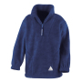 Junior Active Fleece Top S (6-8) Royal