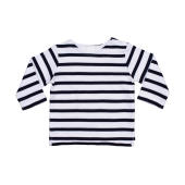 Baby Breton Top - White/Navy