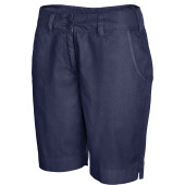 Damesbermuda washed navy 34 nl (36 fr)