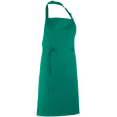 Colours bib apron emerald one size