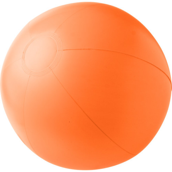 PVC inflatable beach ball.