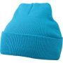 Knitted Cap aqua