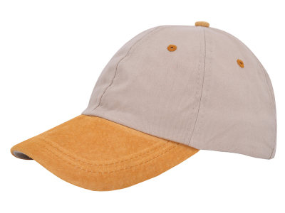 Soft Cotton/suède cap