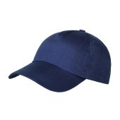 Brushed 5 Panel Kids Cap Navy