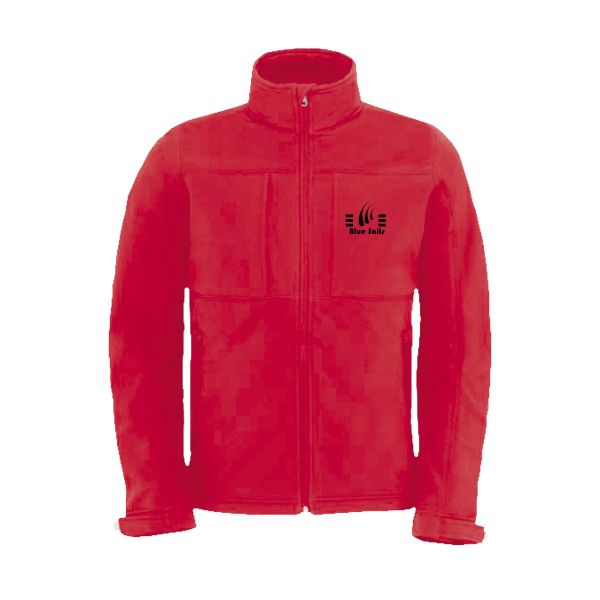 B&C Hooded Softshell heren jack