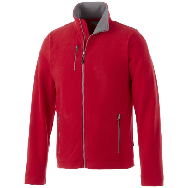 Pitch fleece heren jack met ritssluiting