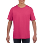 Gildan T-shirt SoftStyle SS for kids Heliconia XS