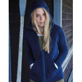 Ladies Urban Hooded Fleece