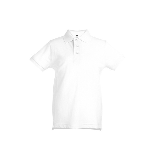 THC ADAM KIDS WH. Children's polo shirt