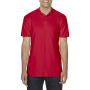 Gildan Polo Softstyle Double Pique SS for him Red 3XL