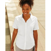 Oxford Shirt Short Sleeve Lady-Fit