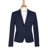 Calvi slim fit jacket navy 38 eu (10 uk)