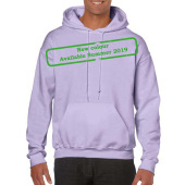 Gildan Sweater Hooded HeavyBlend for him Orchid XXL