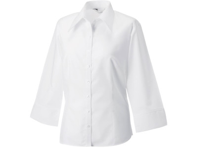 Ladies' 3/4 sleeve tencel fitted shirt