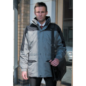 Alaska 3-in-1 jacket grey / black xxl