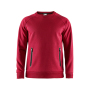 Craft Emotion crew sweatshirt men bright red xxl