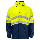 PROJOB 6431 RAINJACKET HV YELLOW 4XL